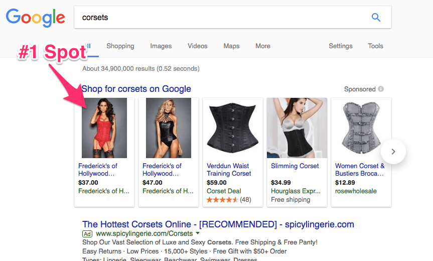 Google Shopping Case Study 1